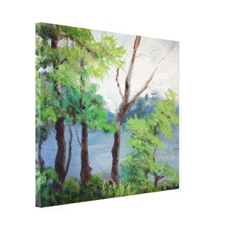 Mist Lake Print