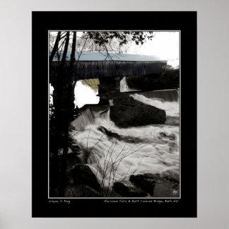Mist on Harriman Falls Poster