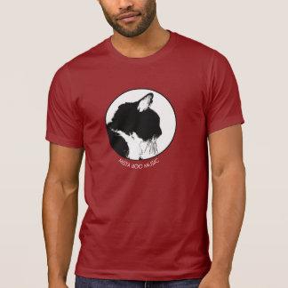 Mista Boo Music Cat T-shirt, dark T-Shirt