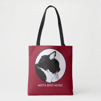 Mista Boo Music Tote Bag