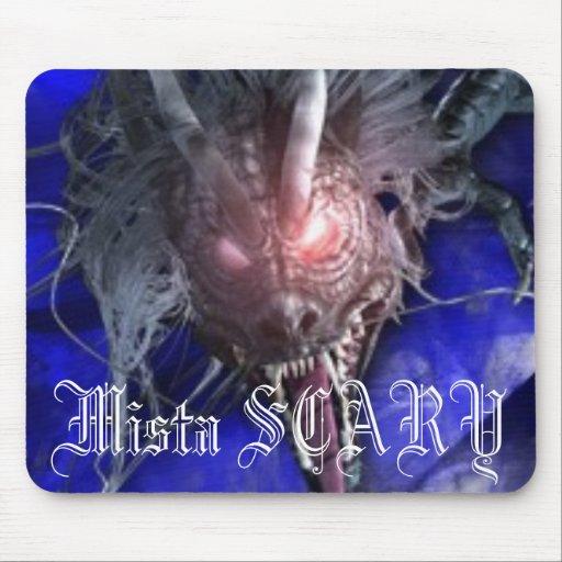 Mista SCARY Dragon Mousepad - Customized