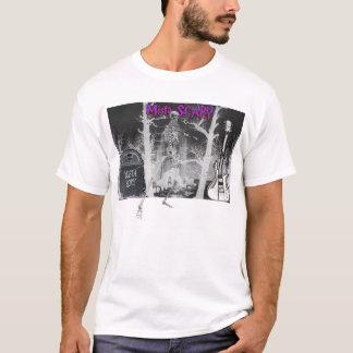 Mista SCARY Graveyard Scene Skeleton T-shirt