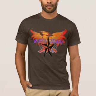 Mista SCARY Orange Phoenix Nautica Star Customized T-Shirt