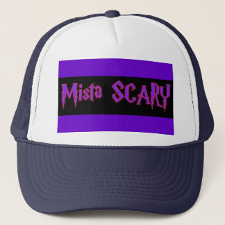 Mista SCARY Purple Logo Baseball  Trucker Hat