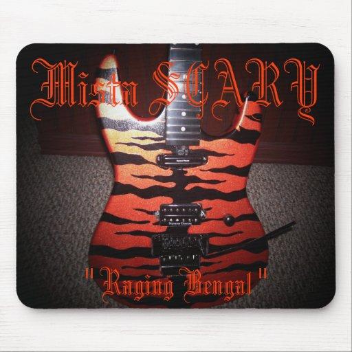 "Mista SCARY ""Raging Bengal"" Mousepad - Customized"