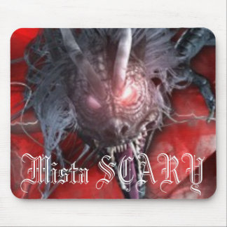 Mista SCARY Red Dragon Mousepad - Customized