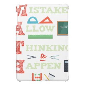Mistakes Allow Thinking To Happen Math Teacher iPad Mini Cover