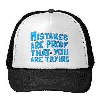 mistakes cap