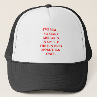MISTAKES TRUCKER HAT