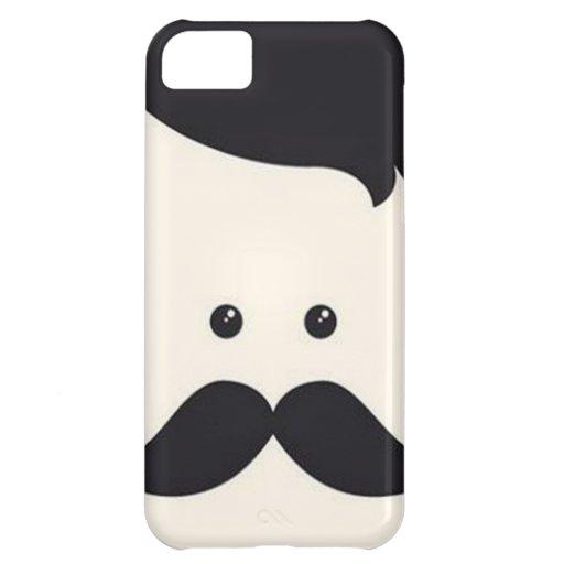 Mister Moustache! iPhone 5C Covers