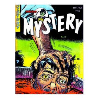 Mister Mystery Comics Postcard