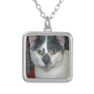 Mister Pants Silver Plated Necklace