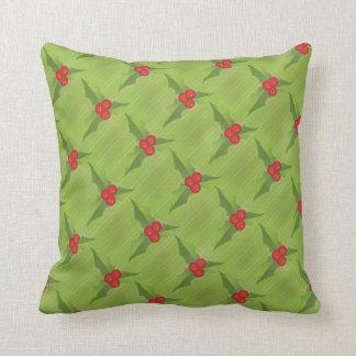 Mistletoe Christmas MoJo Throw Pillow Cushions