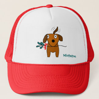 Mistletoe Doggie Wagging - hat