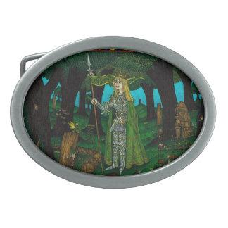 Mistletoe King Elven Buckle Belt Buckle