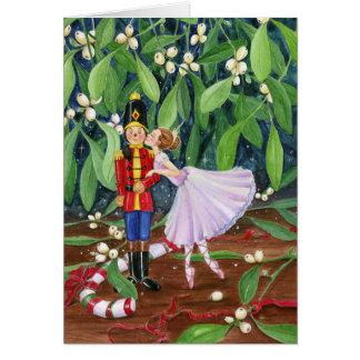 Mistletoe Kiss Card