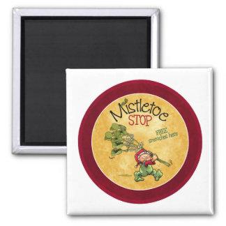 Mistletoe Kiss - Christmas Magnet