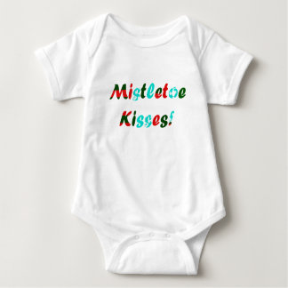Mistletoe Kisses Baby Bodysuit