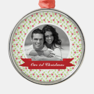 Mistletoe Photo Ornaments