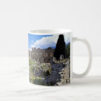 Mistras (Byzantine City), Peloponnese, Greece Coffee Mug