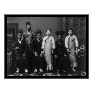 Mistress and Elder Korea 1910 Poster