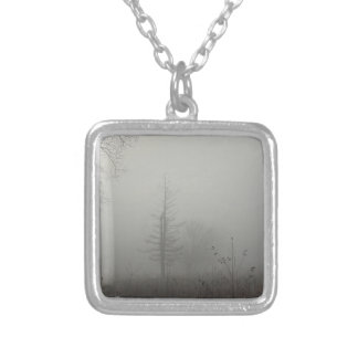 MIstscape Silver Plated Necklace