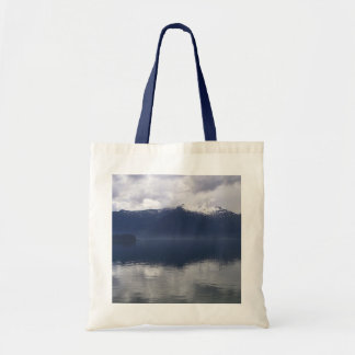 Misty Alaskan Sea in Beautiful Shades of Blue Tote Bag