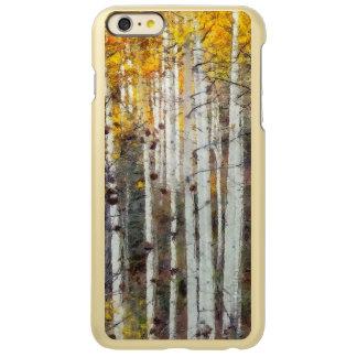 Misty Birch Forest