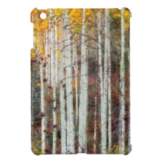 Misty Birch Forest Case For The iPad Mini