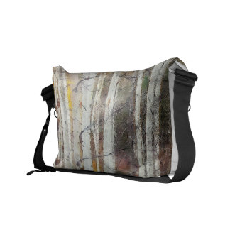 Misty Birch Forest Commuter Bags