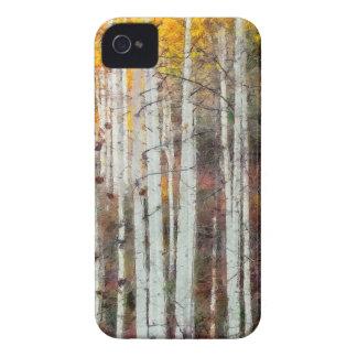 Misty Birch Forest iPhone 4 Case