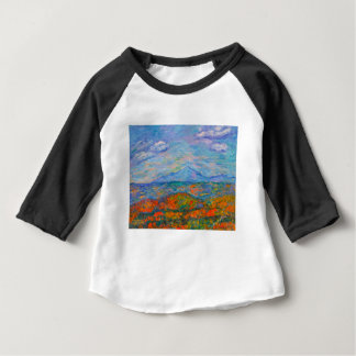 Misty Blue Ridge Autumn Baby T-Shirt