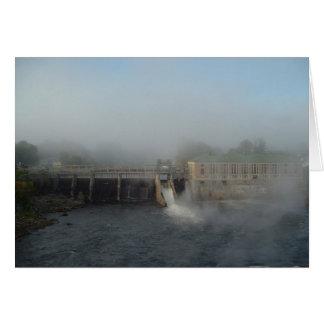 Misty Dam Card