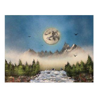 Misty Falls Postcard