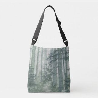 Misty Forest Cross Body Bag