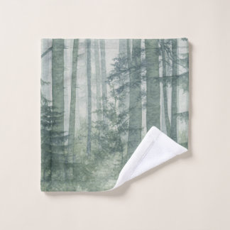 Misty Forest Wash Cloth