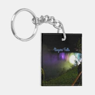 Misty Lights Niagara Falls Key Ring
