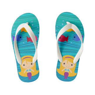 Misty Mermaid Kid's Thongs
