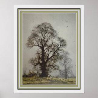 Misty Morn by David Shephard  16 x 20 Poster
