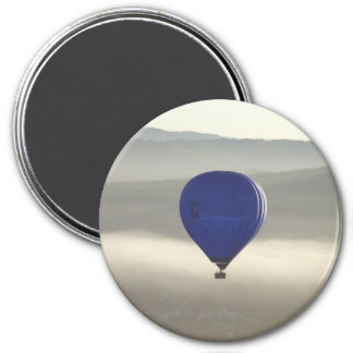 Misty Morning Large Round Magnet