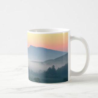 Misty morning on Hadrians Wall Coffee Mug