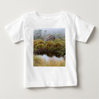 Misty morning reflections, Tasmania, Australia Baby T-Shirt