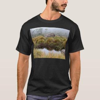 Misty morning reflections, Tasmania, Australia T-Shirt