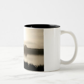 Misty Morning two-tone coffee mug  by NESShop