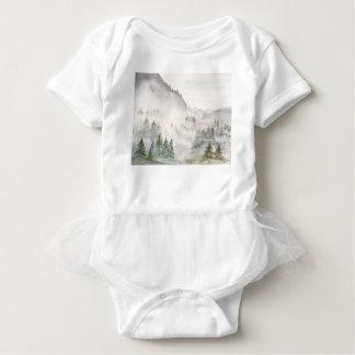 Misty Mountains Baby Bodysuit