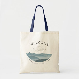 Misty Mountains Hotel Welcome Wedding Bag