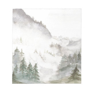 Misty Mountains Notepad