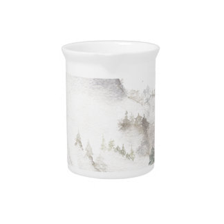 Misty Mountains Pitcher