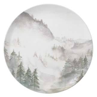 Misty Mountains Plate