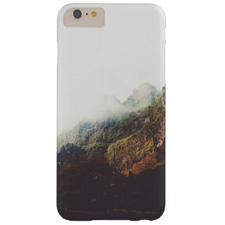 Misty Mountains, Relaxing Nature Landscape Scene Barely There iPhone 6 Plus Case